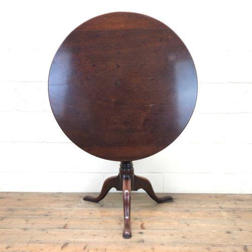 Antique Mahogany Tilt Top Table (1 of 9)