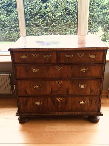 Beautiful English Queen Anne Walnut Chest of Drawers c.1710 (1 of 19)