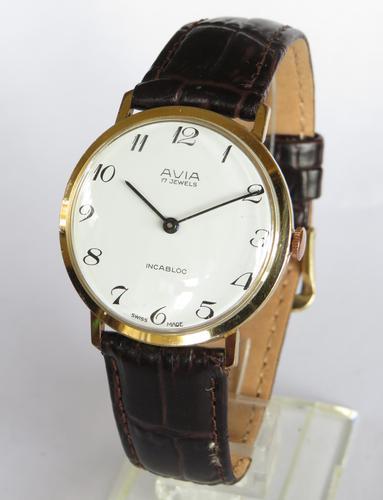 Gents 1970s Avia Wrist Watch (1 of 5)