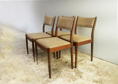 Set of 4 1960's mid century G Plan dining chairs (1 of 4)