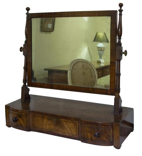 Regency Period Mahogany Dressing Table Mirror (1 of 7)