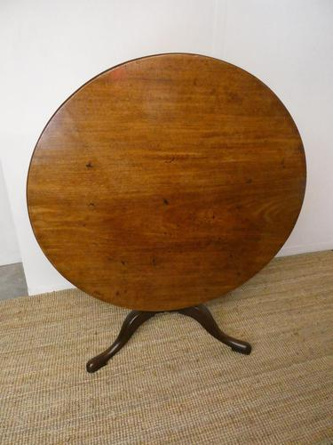 Extra Large 18th Century English Tilt Table (1 of 9)
