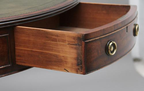 Early 19th Century mahogany drum table (1 of 9)