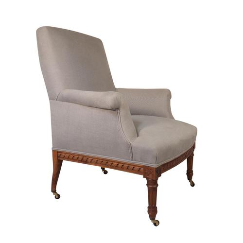 French Napoleon III Armchair (1 of 5)