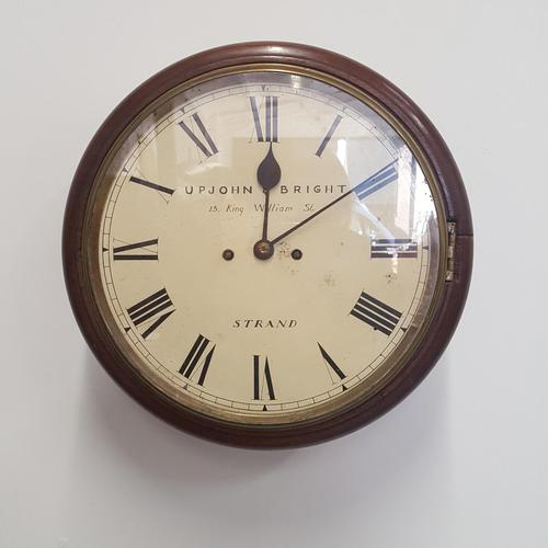 Double Fusee Wall Clock C1860 (1 of 9)
