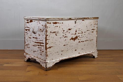 Victorian Painted Blanket Box Chest C1870 (1 of 12)