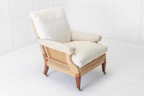 1950s English 'Howard Style' Armchair (1 of 6)
