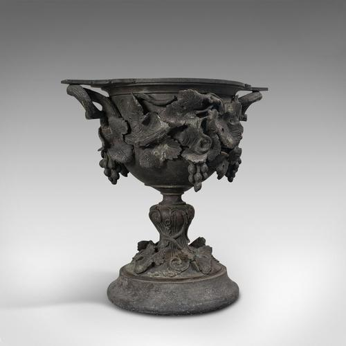 Antique Serving Cup, Continental, Bronze, Goblet, 18th Century, Georgian c.1800 (1 of 12)