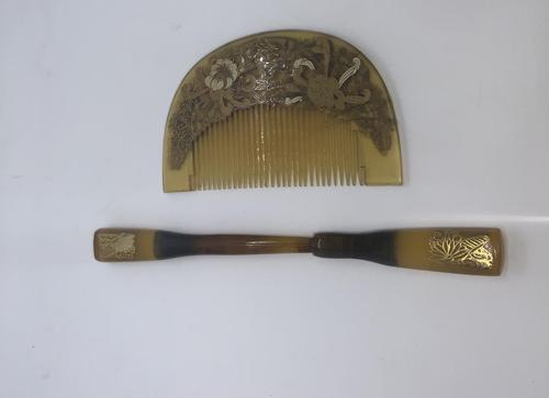 Kanzashi & Comb (1 of 6)