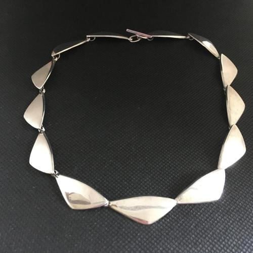 Danish Sterling Silver Necklace. 1960s by Ulrich (1 of 4)