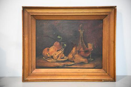 Still Life Oil Painting - A C Harris (1 of 6)