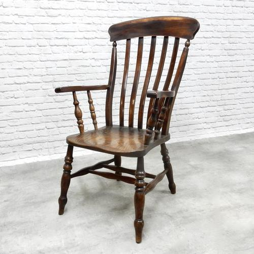 Windsor Lath Back Armchair (1 of 6)