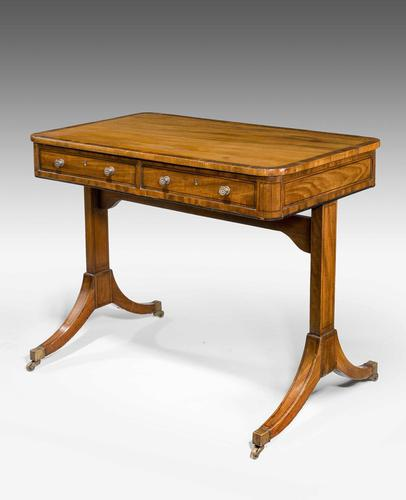 George III Period End Support Writing Table (1 of 3)