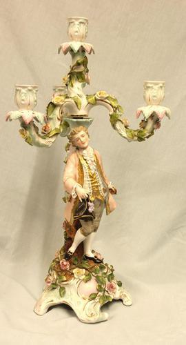 Antique German Porcelain Candelabra (1 of 18)