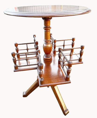 Lovely Victorian Mahogany Knitting Table (1 of 5)