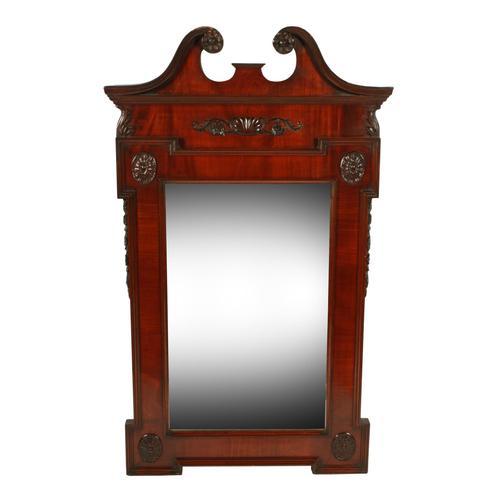 George II Style Wall Mirror (1 of 8)