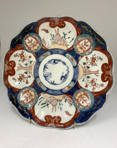 Antique Oriental Imari Porcelain Dish c.1865 (1 of 4)