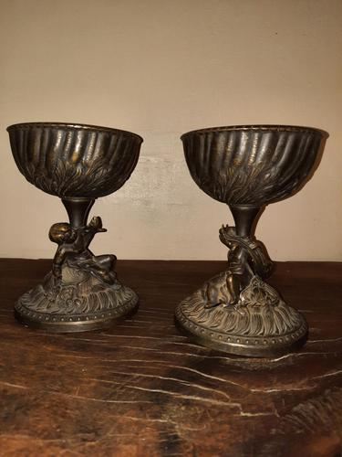19th / 20th Century French Bronze Compotes (1 of 10)