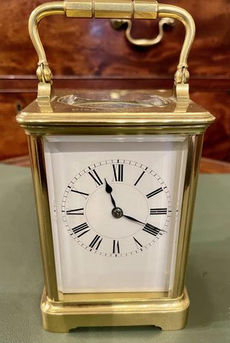 French Carriage Clock by Henri Jacot (1 of 6)