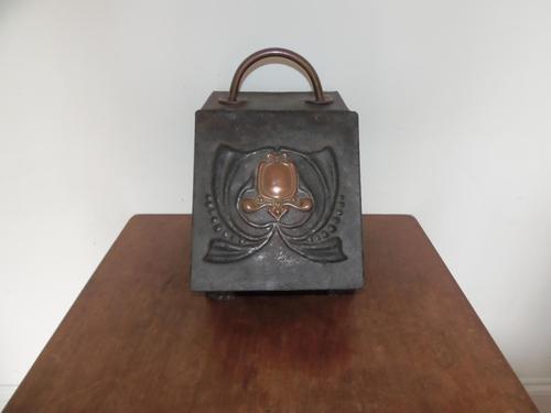 Arts & Crafts Coal Box (1 of 11)