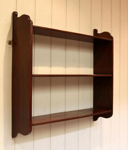 Mahogany Wall Shelves (1 of 10)