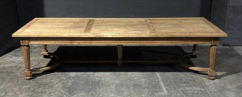 Huge Oak Table from the Bank of France (1 of 21)