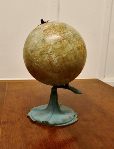 "Hammond's Art Deco 9"" Terrestrial Globe (1 of 7)"