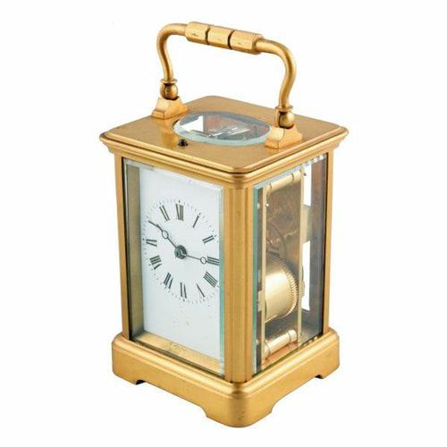 French Repeat Carriage Clock (1 of 8)