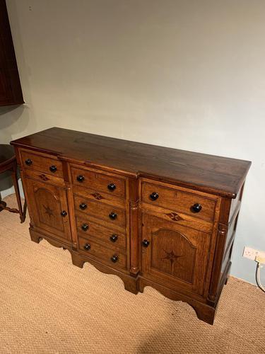 Oak Dresser Base (1 of 6)