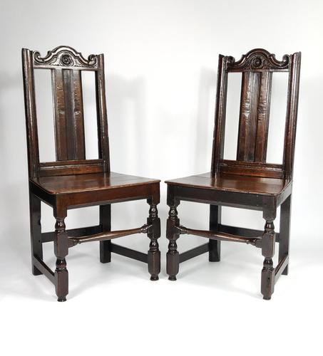 Pair of Late 17th Century Chairs (1 of 8)