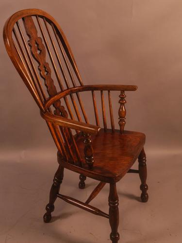 Ash & Elm High Windsor Chair Allsop Worksop Maker (1 of 8)