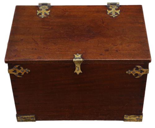 Gothic Revival 19th Century Mahogany Despatch Box Pugin (1 of 6)