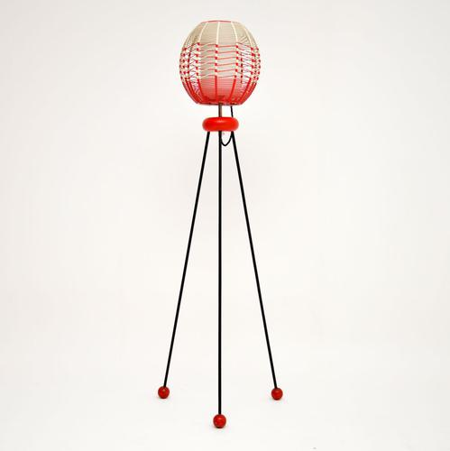 1950's Vintage Tripod Floor Lamp (1 of 9)