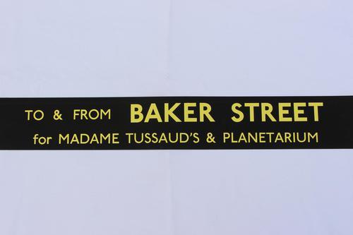 London Transport Slipboard Poster for Baker Street (1 of 1)