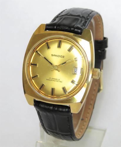Gents 1970s Sandoz Wrist Watch (1 of 5)