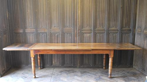 Early 19th Century Extending Farmhouse Table (1 of 8)