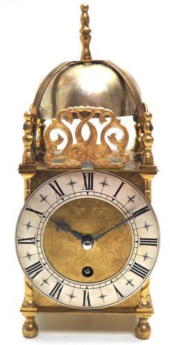 Smiths Lantern Clock – Front Wind 8-day Lantern Mantel Clock (1 of 11)