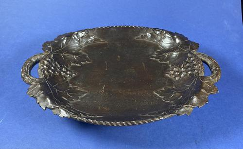 Victorian 3 Air Carved Black Forrest Musical Fruit Bowl (1 of 20)