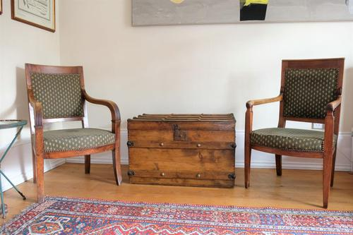 Pair of 19th Century French Walnut Armchairs (1 of 21)