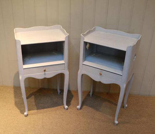 Pair of Painted Bedside Cabinets (1 of 4)