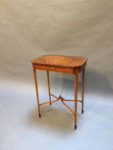 Edwardian Occasional Lamp Table (1 of 8)