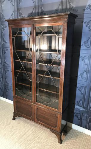 Edwardian Mahogany Bookcase (1 of 10)