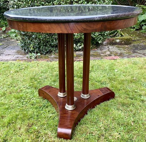 Mahogany Gueridon or Centre Table (1 of 5)