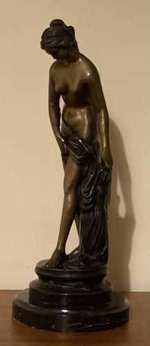 Bronze Venus au Bain after EM Falconet (1 of 12)