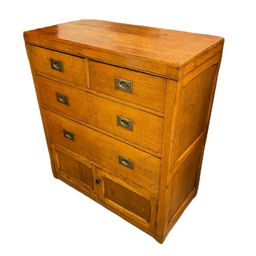1940s Military Naafi Chest of Drawers (1 of 2)