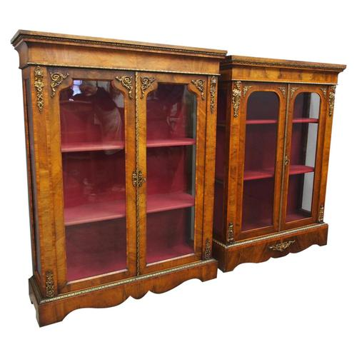 Matched Pair of Victorian Display Cabinets (1 of 17)