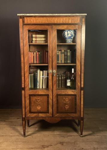 Elegant Napoleon lll Period Rosewood  & Tulipwood Bookcase / Vitrine (1 of 13)