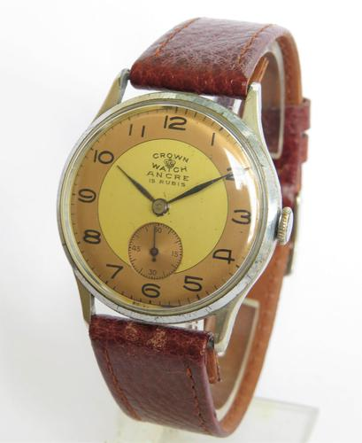 Gents 1940s 'Crown Watch' Wristwatch (1 of 5)