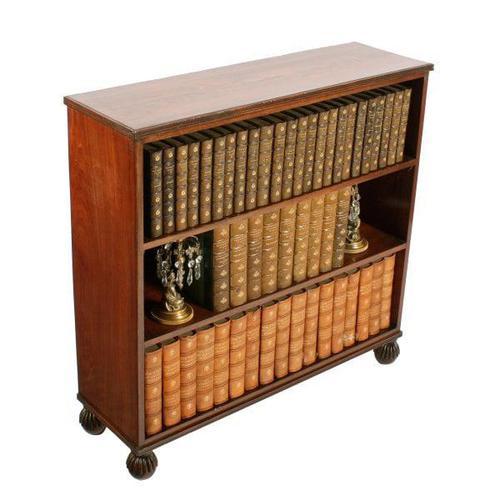 Small Georgian Open Bookshelves (1 of 7)