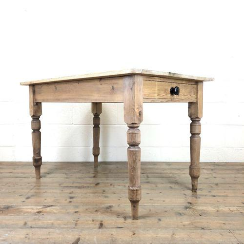 Rustic Pine Kitchen Table (1 of 10)